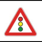 MS10213 Bližina svetlobnih prometnih znakov