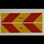 MS10402 ECE 70.01Tabla za označevanje dolgih in težkih vozil 130x565mm (L+D) PAR
