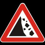 1114-1 Kamenje pada na vozišče