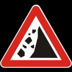 1114 Kamenje pada na vozišče