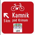 3405-4 Kažipot za kolesarje