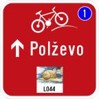 3406 Kažipot za kolesarje
