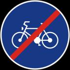 2310 Konec kolesarske poti ali steze