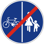 2314 Konec pasov za pešce in kolesarje