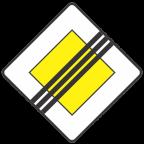 2104 Konec prednostne ceste