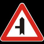 1103-1 Križišče prednostne in neprednostne ceste
