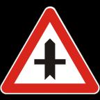 1103 Križišče prednostne in neprednostne ceste