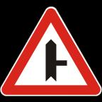 1103-2 Križišče prednostne in neprednostne ceste