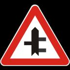 1103-3 Križišče prednostne in neprednostne ceste