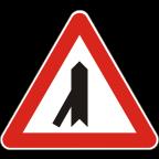 1104 Križišče s priključkom neprednostne ceste na prednostno pod ostrim kotom