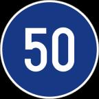 2305 Najmanjša dovoljena hitrost