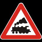 1202 Nezavarovan prehod ceste čez železniško progo