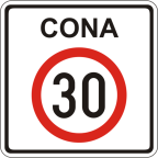 2421 Območje omejene hitrosti