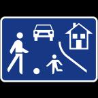 2427 Območje umirjenega prometa
