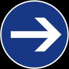 2301-1 Obvezna smer