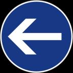 2301-2 Obvezna smer