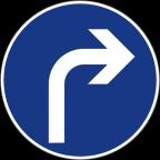 2301-4 Obvezna smer
