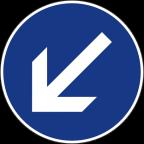 2303-1 Obvezna vožnja mimo