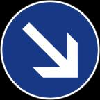 2303 Obvezna vožnja mimo