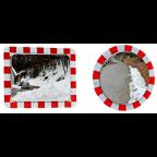 MS10311 Ogledalo cestno Fi 600 inox protirosno