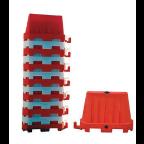 MS10716 Ograja PVC rdeča New Jersey