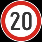 2232-2 Omejitev hitrosti