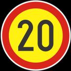 2232-2-R Omejitev hitrosti