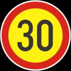 2232-3-R Omejitev hitrosti