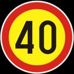 2232-4-R Omejitev hitrosti