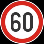 2232-6 Omejitev hitrosti