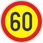 2232-6-R Omejitev hitrosti