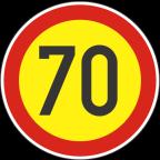 2232-7-R Omejitev hitrosti