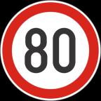 2232-8 Omejitev hitrosti