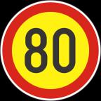 2232-8-R Omejitev hitrosti