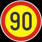 2232-9-R Omejitev hitrosti