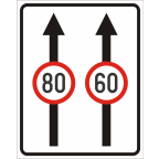 2409 Omejitve in prepovedi na prometnem pasu