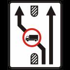 2409-3 Omejitve in prepovedi na prometnem pasu