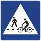 2432-1 Prehod za pešce in kolesarje