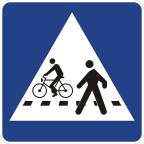 2432 Prehod za pešce in kolesarje