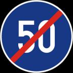 2306 Prenehanje najmanjše dovoljene hitrosti