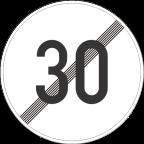 2233-3 Prenehanje omejitve hitrosti