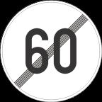 2233-6 Prenehanje omejitve hitrosti