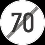 2233-7 Prenehanje omejitve hitrosti