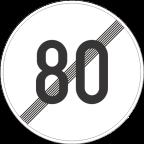 2233-8 Prenehanje omejitve hitrosti