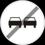 2229 Prenehanje prepovedi prehitevanja motornih vozil