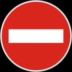 2201 Prepovedan promet v eno smer