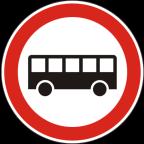 2211 Prepovedan promet za avtobuse