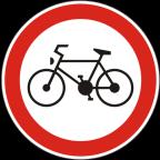 2206 Prepovedan promet za kolesa