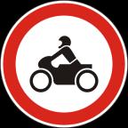 2204 Prepovedan promet za motorna kolesa in mopede