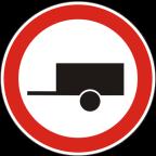 2210 Prepovedan promet za motorna vozila s priklopnim vozilom